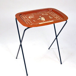 Western TV Tray - I hope that these Western TV trays are used appropriately — meaning sitting on the couch watching reruns of old sitcoms while supping on a Swanson's TV dinner.
