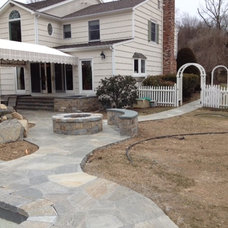 Traditional Patio by Decorative Arts & Design