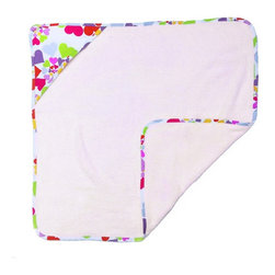 Room Magic - Room Magic Heart Throb Hooded Towel - RM24-HT - Shop for Towels from Hayneedle.com! From the bedroom to the bathroom your baby girl will love the Room Magic Heart Throb Hooded Towel. This adorable hooded towel with designer fabric back features graphic swirls of multicolored hearts. The complete cotton construction will ensure your baby stays warm and snuggly from the bath to the bed.About Room MagicRoom Magic doesn't just make children's furniture; they design furniture specifically for children using the magic of childhood imagination and creativity as a guiding principle. Beginning in 1999 with graphic designer Karen Andrea's attempt to create a truly lively and unique room for her five-year-old daughter Sarah the company has maintained a focus on using bright colors and unique themes that steer clear of cliched motifs. Bright and bold playful cut outs decorate the quality hardwood pieces finished with beautiful stains. With collections that are geared both to boys and to girls Room Magic provides the furniture accessories and bedding you need to bring the magical fun of childhood to your kids' rooms.