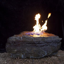 Diablo Fire Boulders - Natural Stone Fire Boulders- Gas and propane fire feature-Fire pit