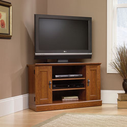 Sauder Framed Glass Stand Home Electronics: Find Speakers, Charging Stations, Docks and Radios ...