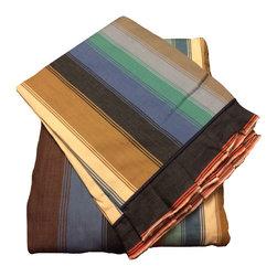 raziascloset - Elegan Shades - 100% Cotton Flat Bedsheet - Queen - 100% Cotton Flat Bedsheet set with 2 sided frills and 2 Pillow cases with 4 sided frills, Queen size