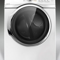Samsung - DV393ETPAWR/A1 7.4 cu. ft King-Size Capacity Front-Load Electric Dryer With Fron - Freshen your clothes with this Samsung electric dryer that features 13 cycles for versatility and a 74 cu ft capacity to accommodate large loads The end-of-cycle signal notifies you when a cycle is finished
