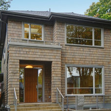 Transitional Exterior by Kore Residential