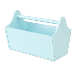 Kidkraft - KidKraft Toy Caddy in Ice Blue - Kidkraft - Toy Caddy - 15930 - Our Toy Caddy is a fun way to stay organized. Features include: