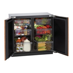 "U-Line - 3036RROL-00 Modular 3000 Series 36"" 7.1 cu. ft. Refrigerator With Dual-Zone Conv - U-Select Control provides five distinct food and beverage settings designed to provide optimal preservation and serving temperatures for each independent zone"