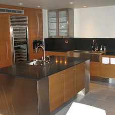 Contemporary Kitchen Cabinets by The Kueffner Company