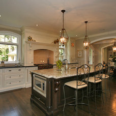 Traditional Kitchen by Foremost Construction Inc