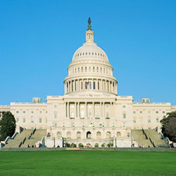 Murals Your Way - Us Capitol Building-West Front Wall Art - The design of the capitol dome, completed in 1866, was influenced by other famous structures around the world such as St