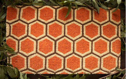 Modern Doormats by India Rose