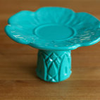 Tiffany Blue Ring Pedestal by Ladies Who Lunch