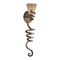 Minka Lavery - Minka Lavery ML 6765 1 Light Wallchiere Wall Sconce from the Tofino Collection - Single Light Wallchiere Wall Sconce from the Tofino CollectionFeatures: