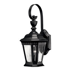 Hinkley Lighting - Camelot Small Wall Outdoor Lantern - King Arthur in a lantern? If you love the romance of Camelot, you'll want this lantern for your home, lighting the pathway to your door. First impressions are lasting impressions and this stately lantern will make a good one.