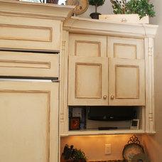 Mediterranean Kitchen by Faralli Kitchen and Bath Design Studio