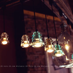 Insulator Lights in Caribou Coffee Store - ren@foto-29.com, Caribou Coffee