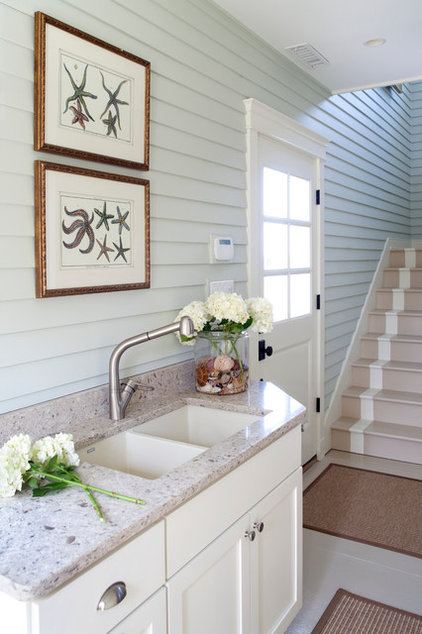 Traditional Entry by Kristin Peake Interiors, LLC