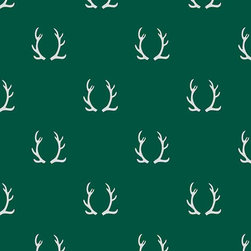 Chasing Paper - Antler Green Grey S002503 Wallpaper Panel - Antler Green Grey S002503 Wallpaper Panel is Self-adhesive.Collection name: Self Adhesive Wallpaper PanelSize of each panel is 2 feet by 4 feet.This wallpaper panel with antler prints in green and grey tones gives a unique and pretty look to your home. Also, the wallpaper panel is removable and easy to install.