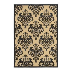 Shaw Living Indoor Outdoor Area Rug Lilly Onyx 5 X 7
