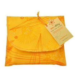 Eco Ditty Sandwich Bag - Fields Of Honey - eco ditty is the perfect sandwich bag. Made from 100% organic cotton they are easily adjustable to handle all types of sandwiches.
