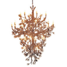 Eclectic Chandeliers by Hammerton Lighting