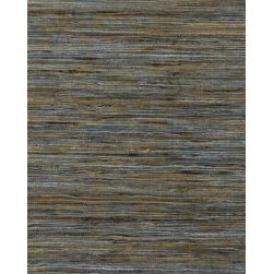 Yoshi Grasscloth Lake by F Schumacher - Made in Japan with a variety of subtle color options, what makes this material interesting is it's versatility.