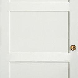 Authentic Wood Doors - Primed Shaker Series Primed Three Panel