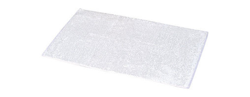 Polyester Rug White - This bath rug is 100% polyester. Step out of your tub onto this ultra-soft touch and luxurious bath mat. It prevents slips with its non-skid latex backing. Machine wash cold and no dryer. Width 17-Inch and length 29.5-Inch. Indoor use only. Color white. Add underfoot softness, and make a luxurious addition to your bathroom decor with this unique bath rug! Complete your decoration with other products of the same collection. Imported.