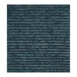 Safavieh - Julian Hand Woven Rug, Dark Blue / Multi 8' X 8' - The Bohemian collection is all-organic, with exquisitely fine jute pile woven onto a cotton warp and weft, and an earthy natural color palette. The high quality jute chosen for our Bohemian rugs is biodegradable and recyclable, with an innate sheen because it is harvested only from Cannabis Sativa (commonly known as the true hemp plant), a quickly renewable resource that excels in length, durability, anti-mildew and antimicrobial properties. The rugs are washed to soften the yarn, and then brushed to an even more lustrous sheen. Hand Knotted in India.