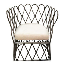 NOIR - NOIR Furniture - Loop Chair in Metal - AI-16 - Features:
