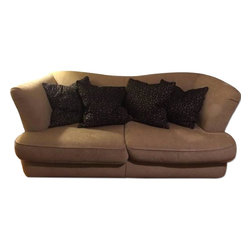 Thayer Coggin Natural Colored Sofa And A Chair - Retail Price: $4000