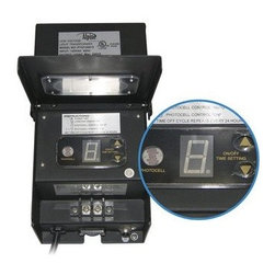 Alpine Corporation - 300 Watt Transformer with Timer and Photo Cell - Alpine offers a wide selection of transformers with photo cells and timers. Perfect to use with any underwater or above water lighting that requires a transformer.