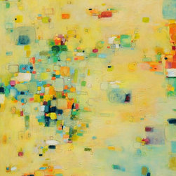"Siiso - Beach Fun - Maybe you don't get to live at the beach, but you can still bring some of that playful spirit into your home. Squint at the abstract colors in Yangyang Pan's ""Beach Fun"" and you can almost make out the bright towels and umbrellas dotting the sun-soaked sand below. Hang this print in a sun-starved room and you will start building sandcastles in your mind."