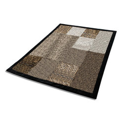 """Blancho Bedding - Onitiva - [Refined Taste] Animal Style Patchwork Throw Blanket (61""""-86.6"""") - This animal skin patchwork throw blanket measures 61 by 86.6 inches with comfortable filling. Comfort, warmth and stylish designs. Animal throw blankets are available in Leopard, Tiger, Cow, Dalmatian, Zebra, Animal  Patchwork, etc. Whether you are adding the final touch to your bedroom or rec-room these patterns will add a little whimsy to your decor. This animal skin throw blanket will make a fun additional to any room and are beautiful draped over a sofa, chair, bottom of your bed and handy to grab and snuggle up in when there is a chill in the air. They are the perfect gift for any occasion! Keep one in your car for staying warm at  outdoor sporting events. Place one on your couch or favorite upholstered chair. Have extras on hand for sleepovers and overnight guests. Machine wash and tumble dry for easy care. Will look and feel as good as new  after multiple washings!"""