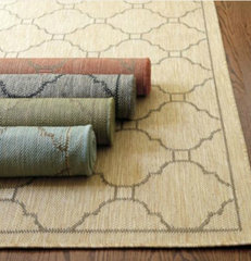 eclectic rugs by Ballard Designs