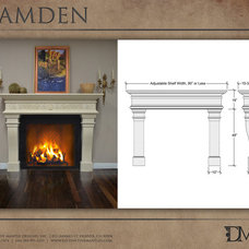 Traditional Indoor Fireplaces by Distinctive Mantel Designs, Inc