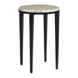 Aquarius - Aquarius Radiance Accent Table in Midnight Black - Aquarius - Accent Tables - 014211704 - About the Aquarius Collection: