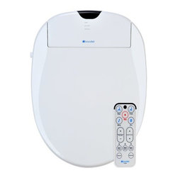 """Brondell - Brondell S1000-EW White Swash Swash 1000 Elongated Bidet Toilet Seat - Swash 1000 Bidet Toilet Seat-Elongated, Biscuit Pure water is the most effective and refreshing way to clean every part of the body. Better than a conventional toilet seat or bidet, the Swash advanced bidet toilet seat provides a cleansing, soothing, personal hygienic wash reducing or eliminating the need for dry, ineffective toilet paper. The Swash easily and quickly replaces the existing toilet seat and can be self installed in less than 1 hour. The Swash bidet seat offers tremendous health & hygiene benefits to all users, men and women, children to the elderly. The Swash affords senior citizens and those suffering from debilitating illness, such as arthritis, a hands-free bathroom experience that can provide independence and restore dignity. The Swash seats are constructed with durable high quality components backed by Brondell's exceptional customer service and product warranties. Inside the clean design and elegant styling, the Swash offers an instant ceramic core heater and provides a limitless stream of warm water for comfortable, hygienic wash. The dual self-cleaning stainless steel adjustable nozzle system has an aerated wash stream with oscillation and wide spray functions for even the most sensitive users. The Swash 1000 also features an adjustable warm air dryer, automatic deodorizer, nozzle sterilization, quick release seat, wireless remote control, and an automatic power saving """"eco-mode"""" to save energy. Once you try a Swash, you will wonder how you ever lived without it!  Posterior and feminine warm-water washes  Eco-friendly instant ceramic heating system for unlimited warm water  Twin adjustable stainless steel nozzles  Water and seat temperature settings  Water pressure controls  Warm air dryer  Maintenance Free Deodorizer  Nozzle oscillation (massage) feature  Nozzle sterilization  Aerated wash spray with width"""