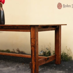 Redux Designs - Hand Built Rustic Farmhouse Table - This table can be replicated with any color and style of choice, starting at $500!