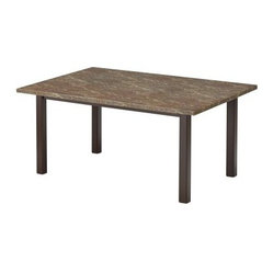 Faux Coral Stone Dining Tables Find Square And Round Dining Room Tables Online