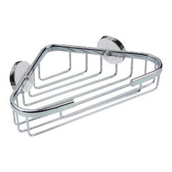 no drilling required Corner Bath Caddy