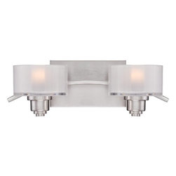 Quoizel - Quoizel CMB8602 Camber 2 Light Vanity Light - Features: