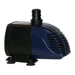 Alpine Fountains - Hybrid Powered 280GPH Garden Pump w Solar Pan - High end solar panel for optimal performance level. 1 Year Limited Warranty. Assembly Required. Overall Dimensions: 6 in. L x 3 in. W x 4 in. H (7.31 lbs)This hybrid pump is designed to cut your energy costs in half and give you full solar optimization. It will pay for itself in electrical savings in a matter of months. Ideal for small ponds.