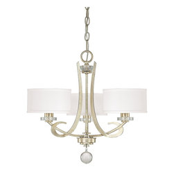 Capital Lighting - Hutton 3 Light Chandelier - Beginning with design concepts from popular home fashions, they transform their ideas into lighting fixtures that blend timeless beauty with today's styling.