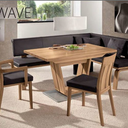 Wave Chair Woessner - WAVE DINING CHAIR or ARMCHAIR  (101.1,101.2, 102.1, 102.2, 107.1, 107.2)