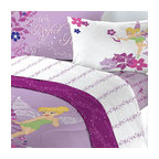 Store51 LLC - Disney Tinkerbell Powder Purple Full Bedding Set - FEATURES: