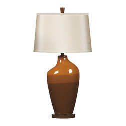 """Signature Design by Ashley - 29.75"""" Set of 2 Sheila Ceramic Table Lamp - Standing out from most of the accessories that accent your home with style and beauty, lamps serve a purpose along side adding to the look and feel of your home's decor. This diverse Lamp Collection contains lamps that illuminate and accent your home while providing a unique flair that enriches the look of any home environment. Each lamp features a unique vision of artistic beauty that perfectly accessorizes with any of the furniture within your home. Cast your home in the warm glow of a stylish lamp that is sure to enhance the beauty of your home. The Lamps - Contemporary Shiela Collectionfeatures:"""