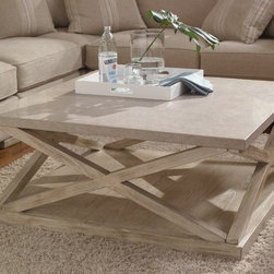 Malibu Square Cocktail Table, A.R.T. Furniture -