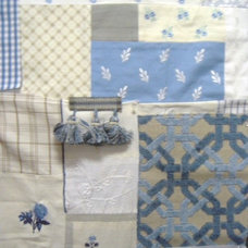 Traditional Upholstery Fabric by Corcoran Design Studio