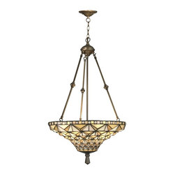 Dale Tiffany - Dale Tiffany Buckminster Inverted Hanging - Product Details