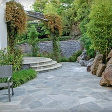 Asian Patio by Aitken and Associates